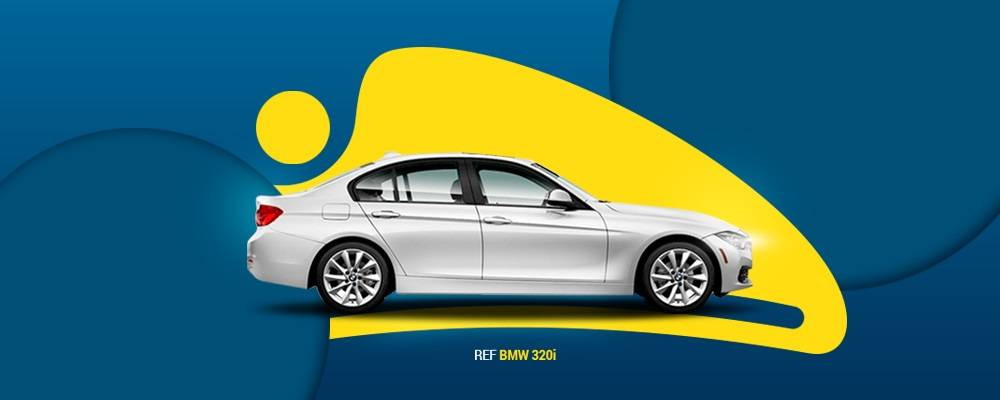Get a 30% Discount on BMW 320i or similar in Bogota when renting it for more than 3 days